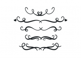 decorative line svg #955, Download drawings