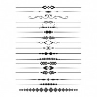 decorative lines svg #811, Download drawings