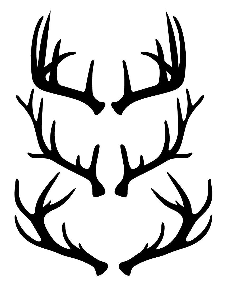 deer antler svg #480, Download drawings