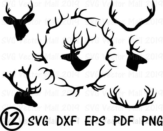 deer antler svg #479, Download drawings