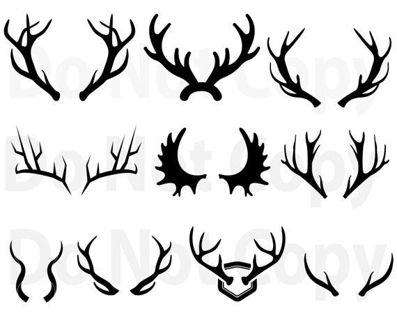deer antler svg #481, Download drawings
