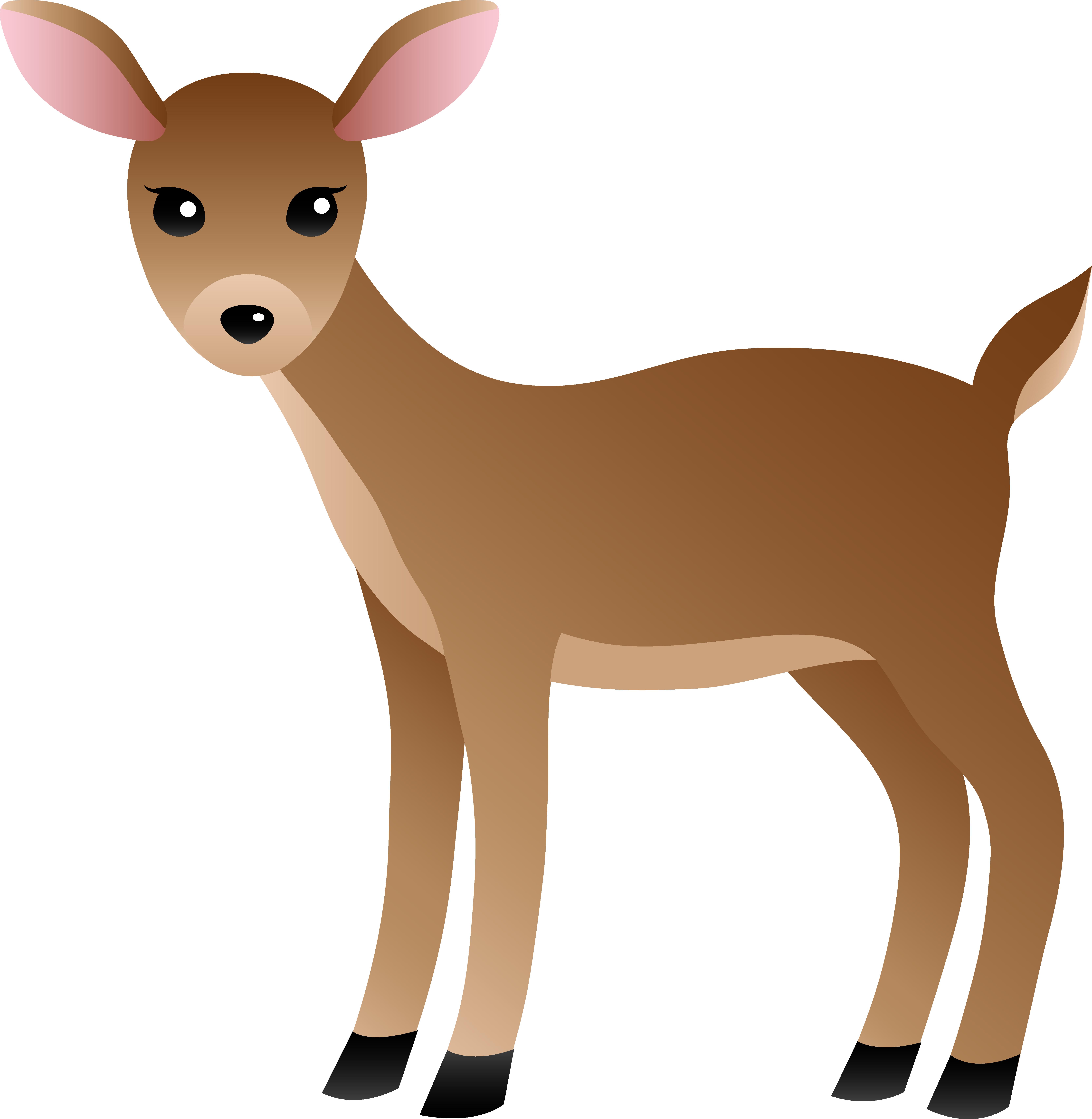 Deer clipart #2, Download drawings