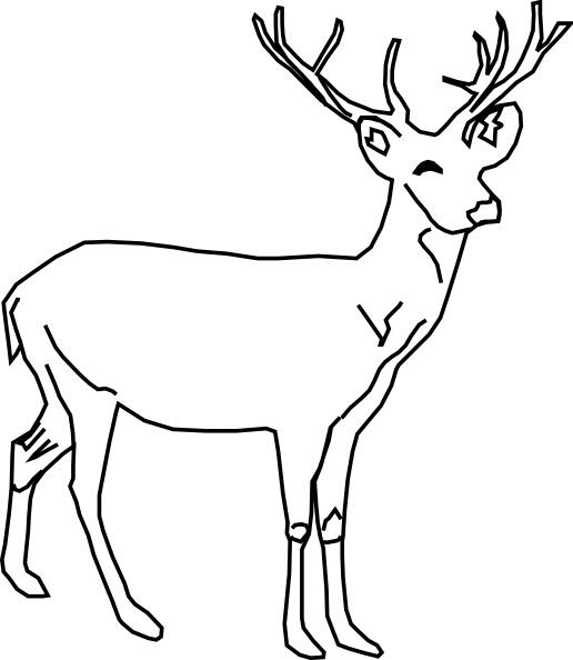 Deer clipart #11, Download drawings