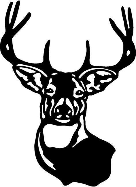 deer head svg free #442, Download drawings