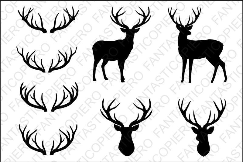 deer svg free #887, Download drawings