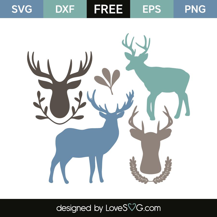 deer svg free #869, Download drawings
