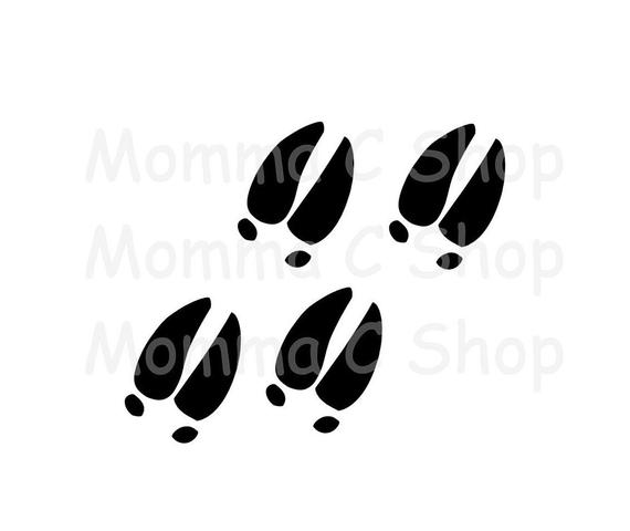 deer tracks svg #1217, Download drawings