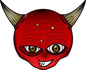 Demon clipart #2, Download drawings