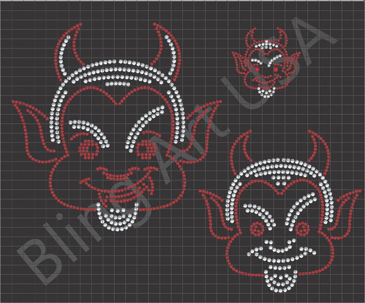 Demon svg #3, Download drawings