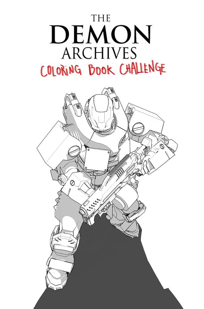 Demon Wars Saga coloring #13, Download drawings