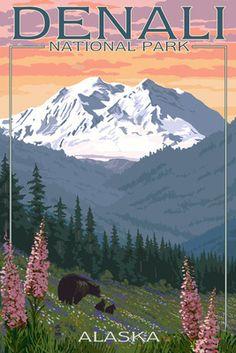 Denali National Park clipart #7, Download drawings