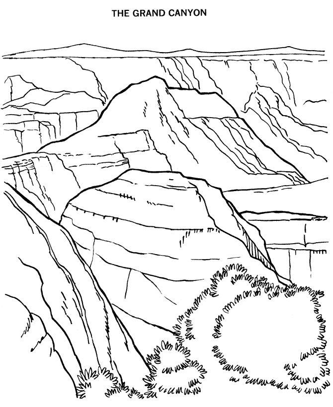 Denali National Park coloring #13, Download drawings