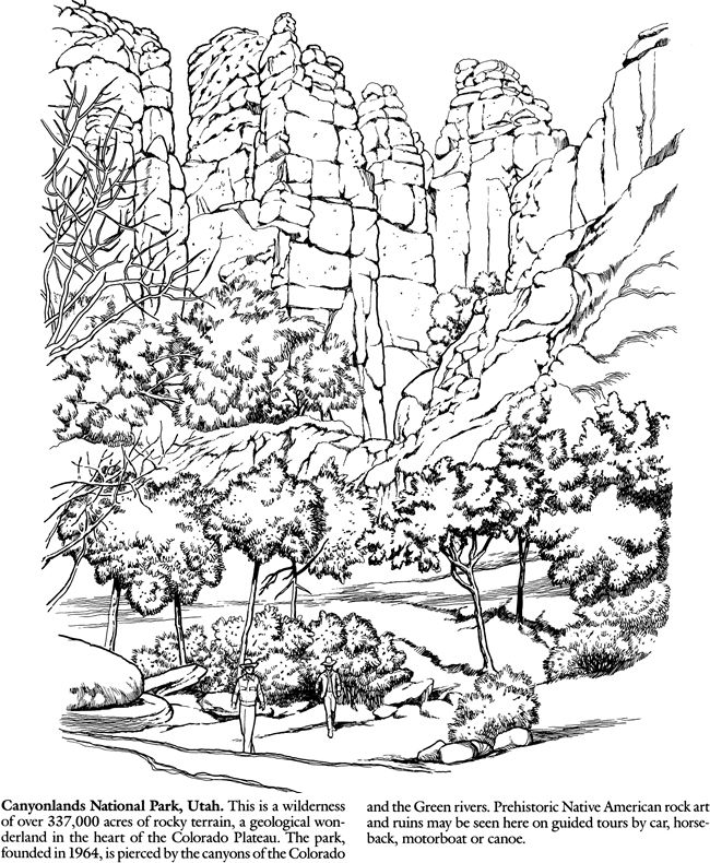Denali National Park coloring #19, Download drawings