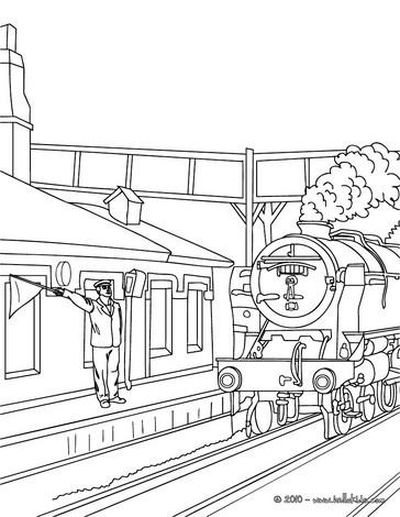 Departure coloring #7, Download drawings