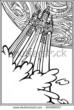 Departure coloring #16, Download drawings