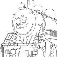 Departure coloring #9, Download drawings