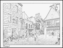 Departure coloring #13, Download drawings