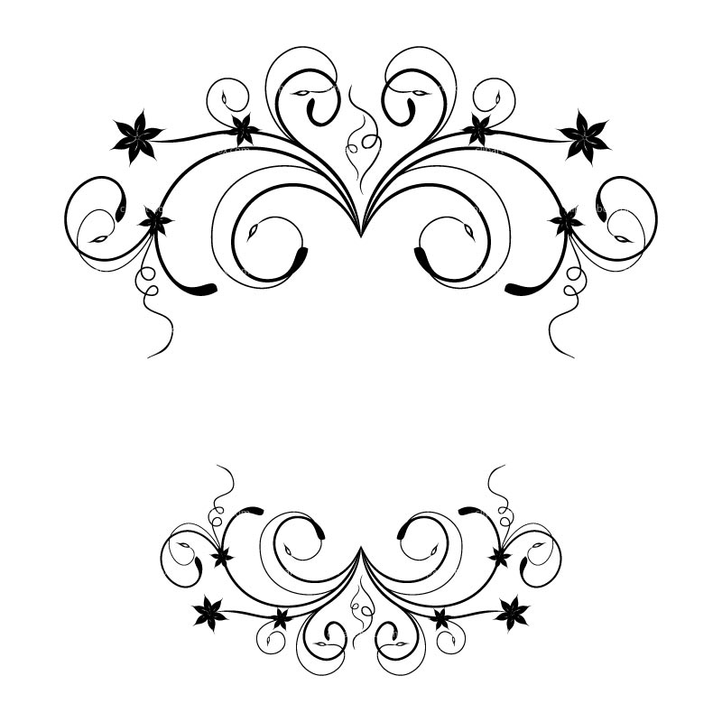 Floral clipart #8, Download drawings