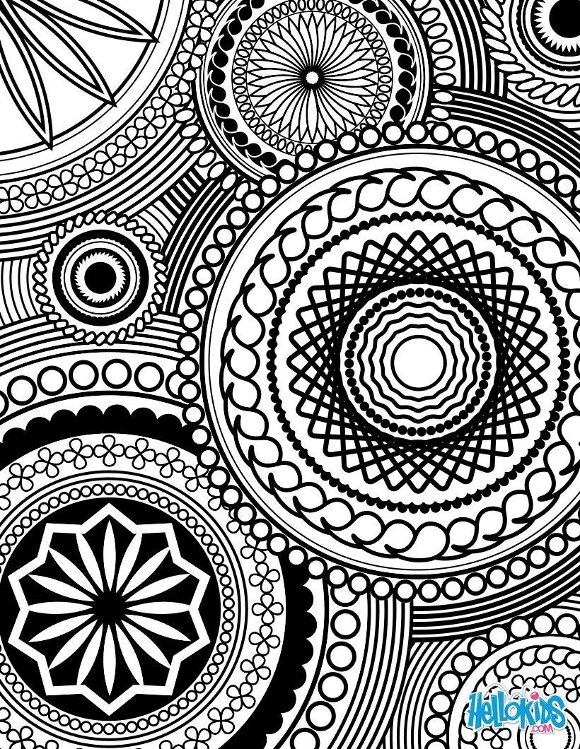 Design coloring #13, Download drawings