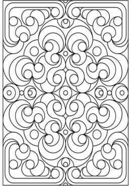 Design coloring #1, Download drawings