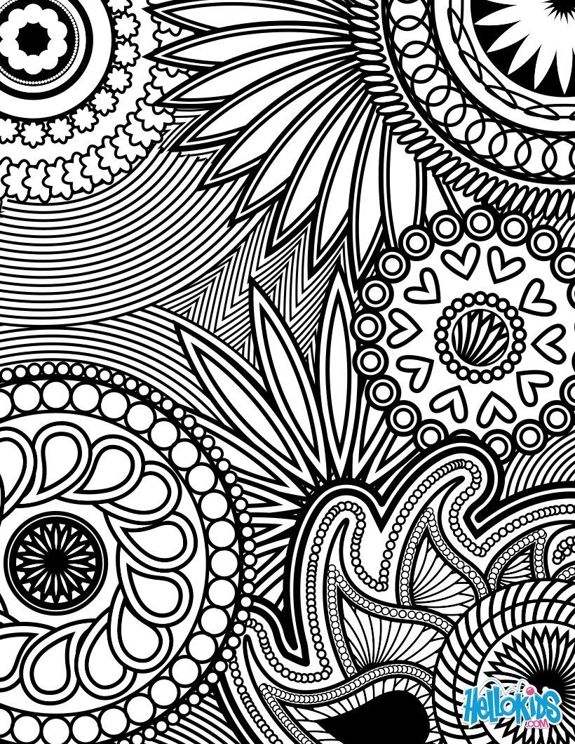 Design coloring #17, Download drawings