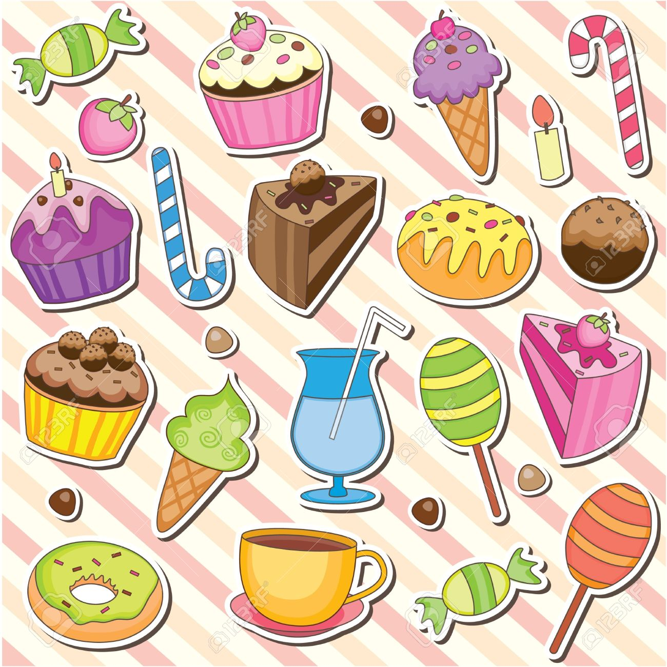 Dessert clipart #2, Download drawings