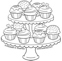 Dessert Coloring Download Dessert Coloring For Free 2019