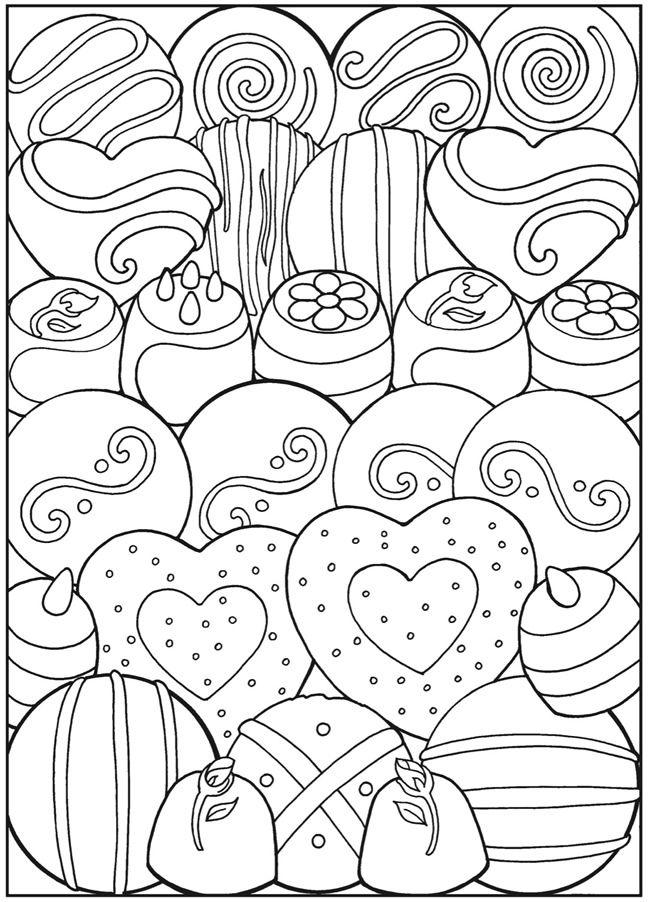 Download Dessert coloring for free - Designlooter 2020