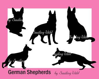 Deutscher Schaeferhund clipart #19, Download drawings