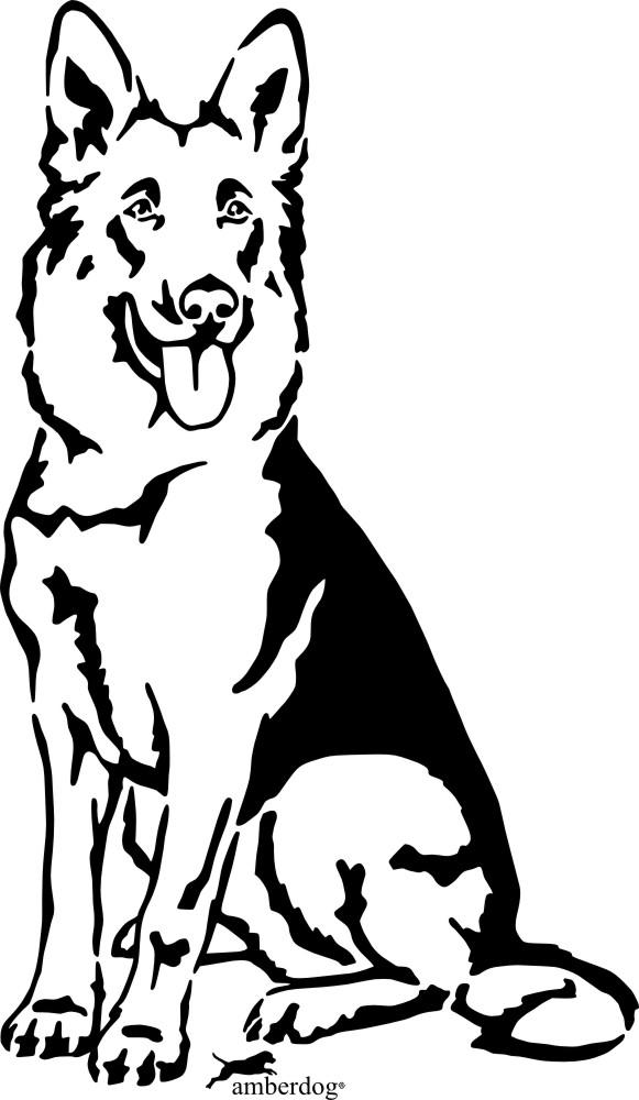 Deutscher Schaeferhund clipart #4, Download drawings