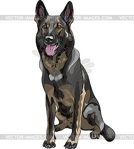 Deutscher Schaeferhund clipart #7, Download drawings