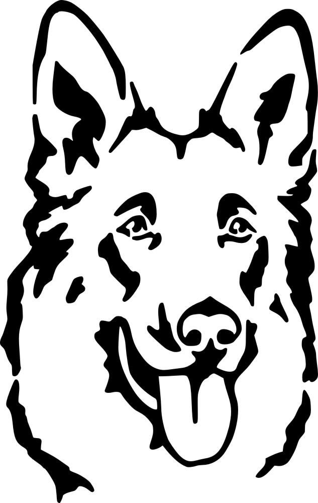Deutscher Schaeferhund clipart #5, Download drawings