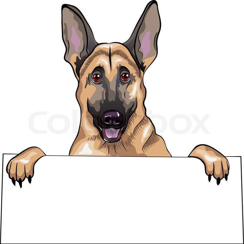 Deutscher Schaeferhund clipart #3, Download drawings