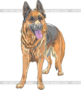 Deutscher Schaeferhund clipart #6, Download drawings