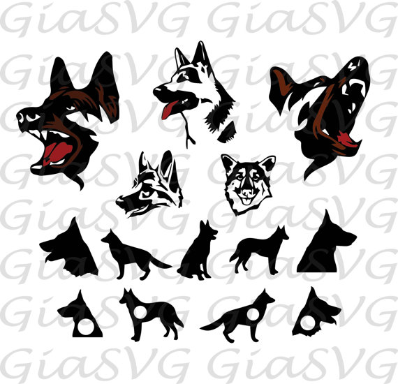 German Shepherd svg #12, Download drawings