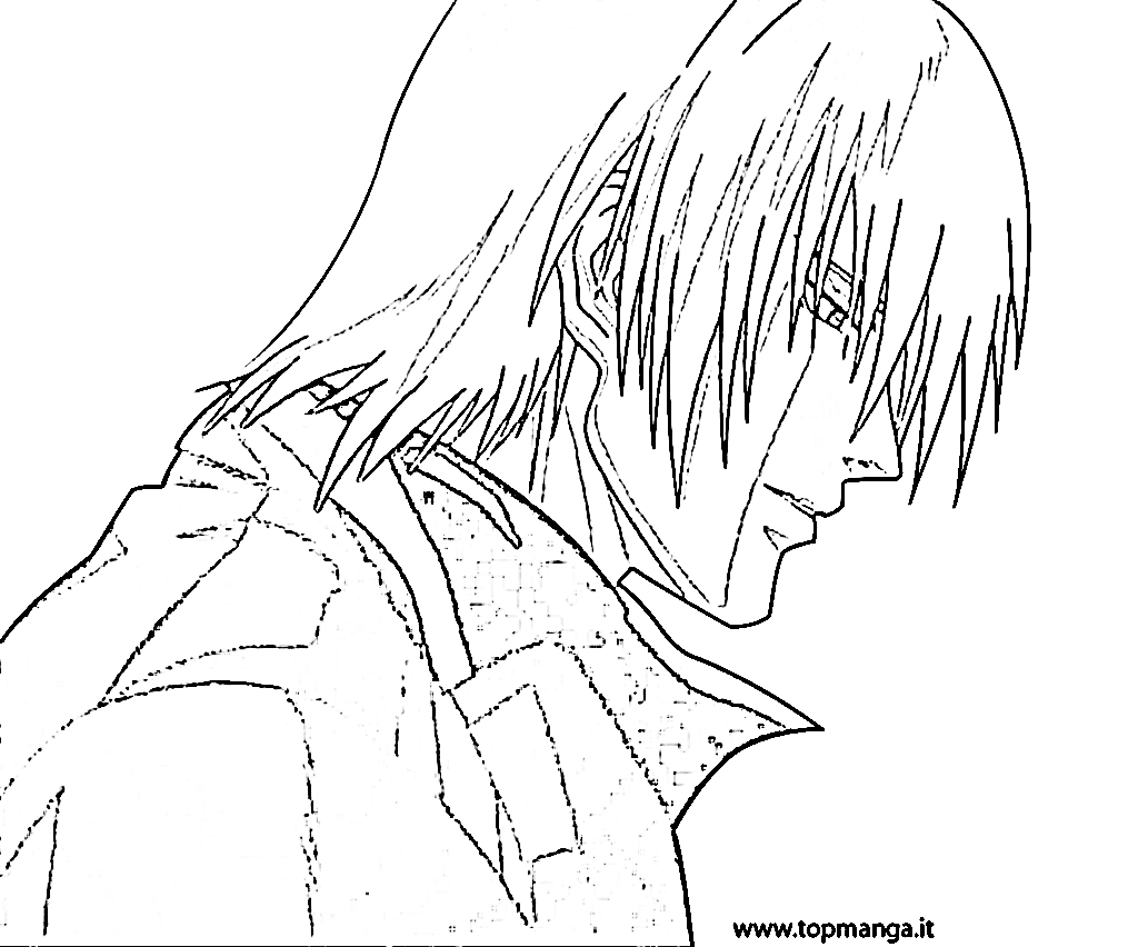 Devil May Cry coloring #2, Download drawings