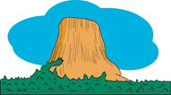 Devils Tower clipart #20, Download drawings