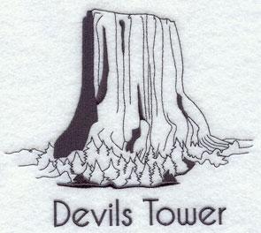 Devils Tower coloring #19, Download drawings