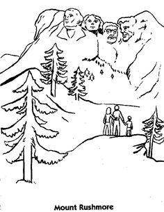 Devils Tower coloring #16, Download drawings