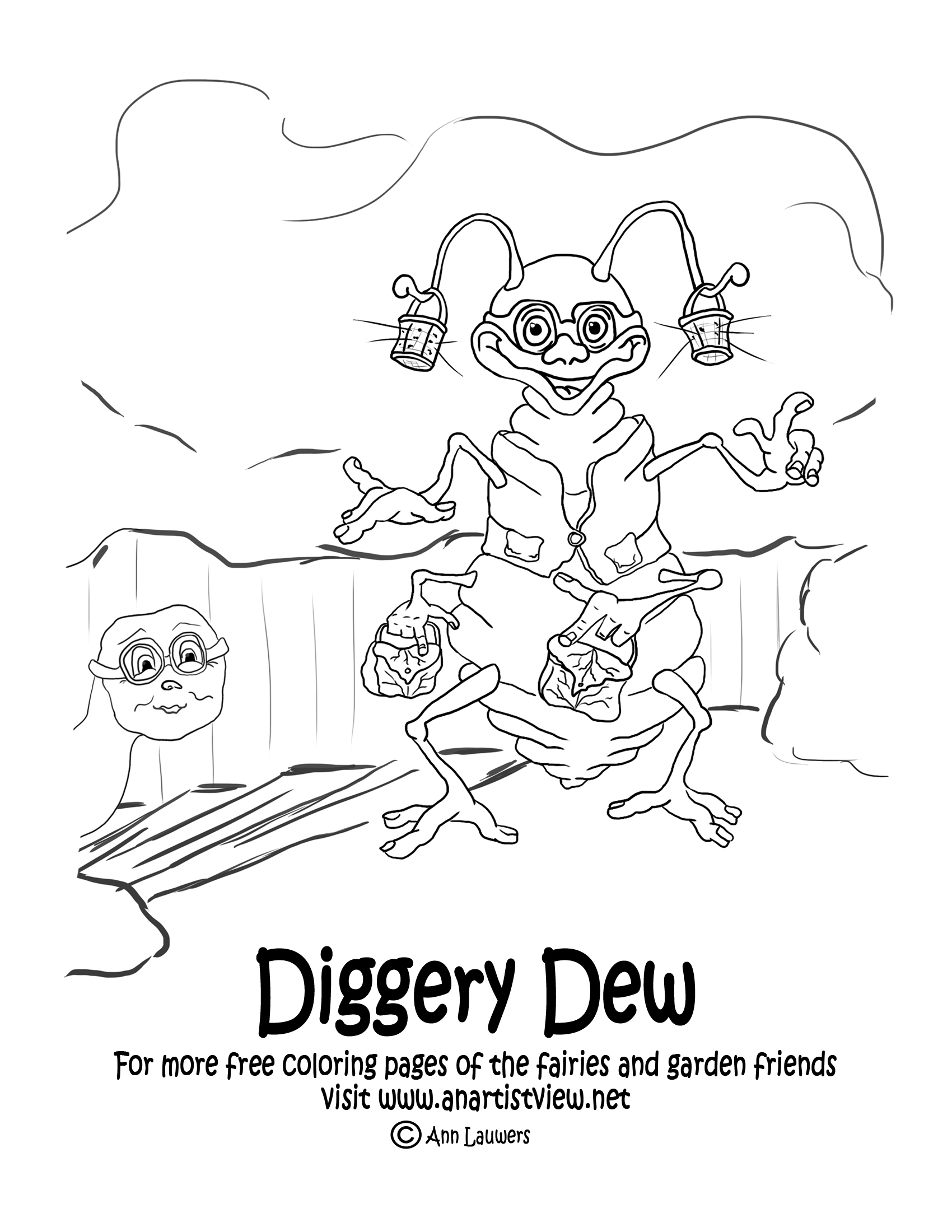 Dew coloring #15, Download drawings