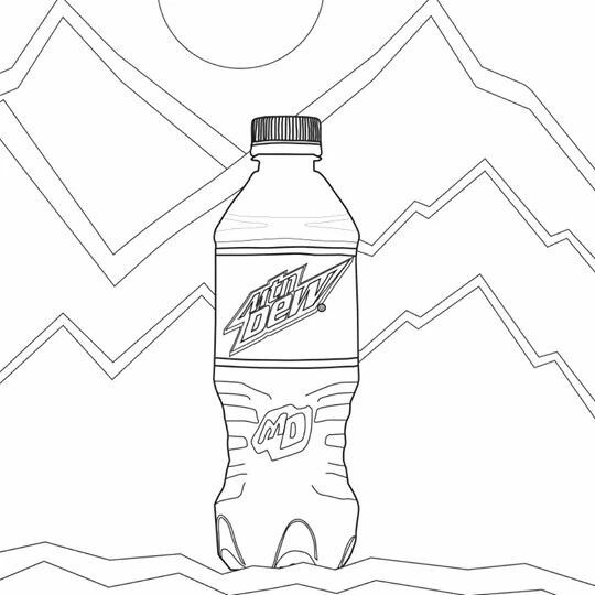 Dew coloring #1, Download drawings