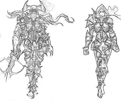 Diablo III coloring #20, Download drawings