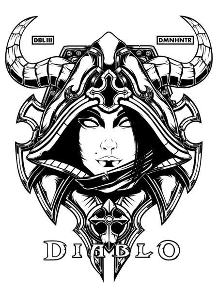Diablo III coloring #12, Download drawings