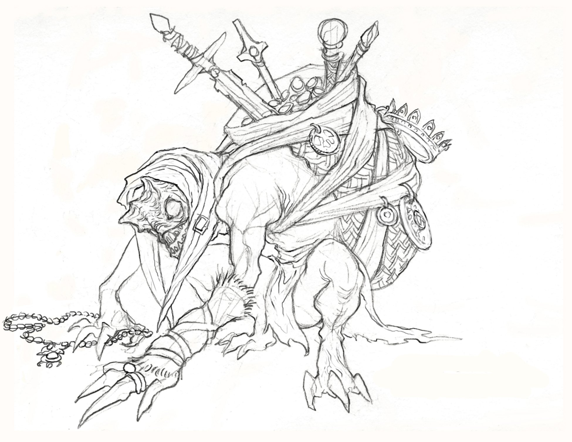 Diablo III coloring #8, Download drawings