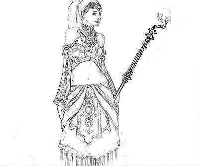 Diablo III coloring #10, Download drawings