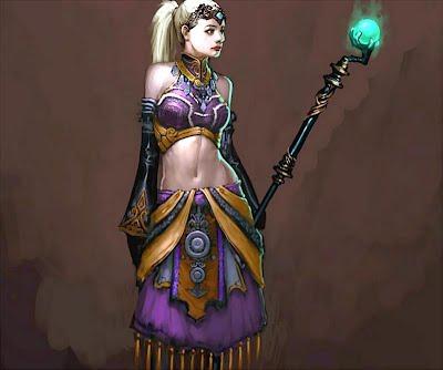Diablo III coloring #14, Download drawings