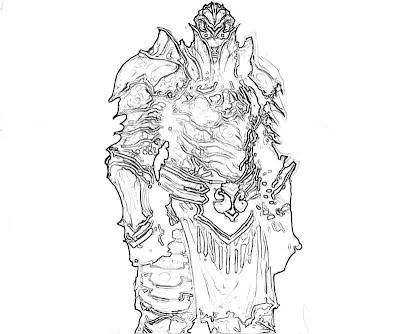 Diablo III coloring #13, Download drawings