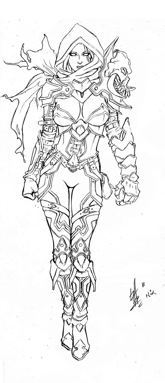 Diablo III coloring #9, Download drawings