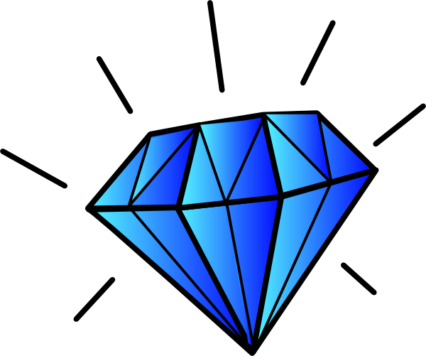 Diamond clipart #4, Download drawings