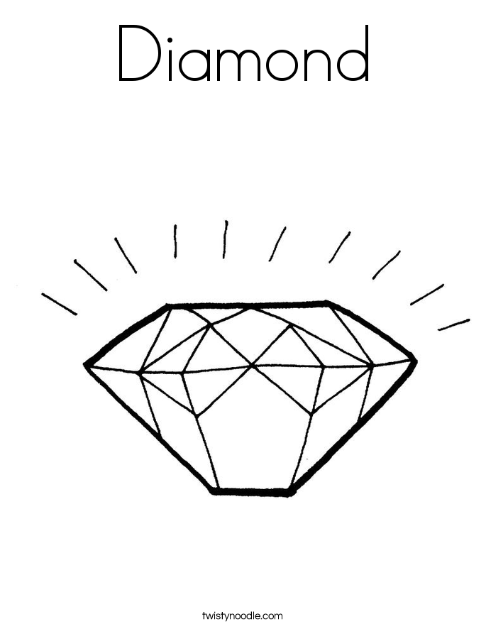 Diamond coloring #17, Download drawings